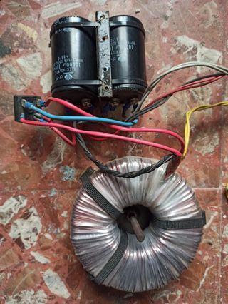toroidal y capacitadores