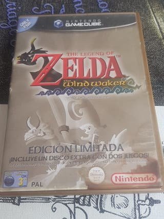 the leyend of zelda the wind waker game cube