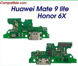 Placa carga Usb Huawei Mate 9 lite /Honor 6X