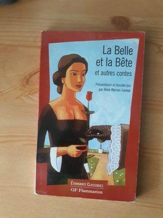 la belle e la bete. la bella y la bestia francés