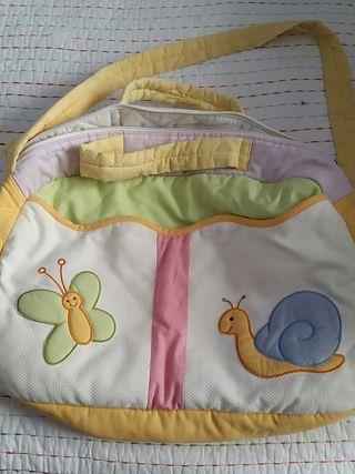 Bolsa bebé para pañales, ropa...