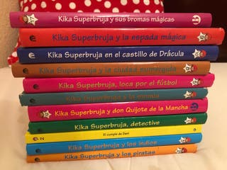 Lote de 11 libros de kika súperbruja
