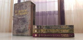 Saga libros El señor del Tiempo