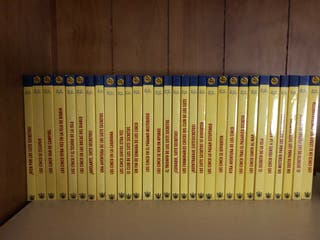 Lote de 30 libros de los cinco