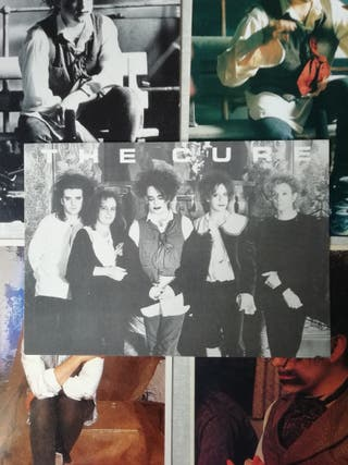 5 postales THE CURE