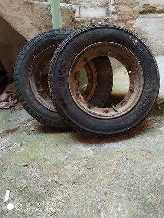 ruedas vespa