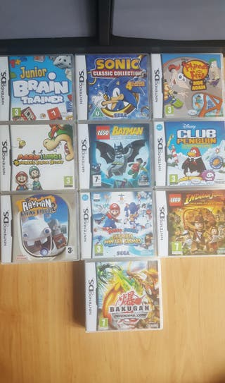 Nintendo DS Game Bundle