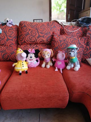 Pack 5 peluches