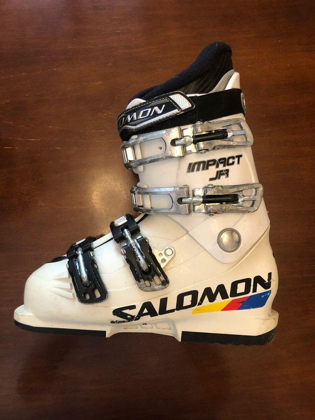 Botas de ski junior talla 24 Salomón
