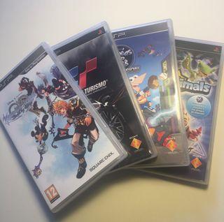 Lote de videojuegos para PSP