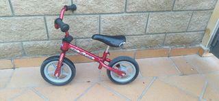 bicicleta sense pedals chico