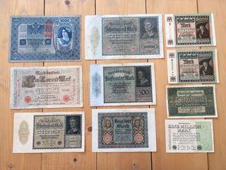 Colección billetes alemanes