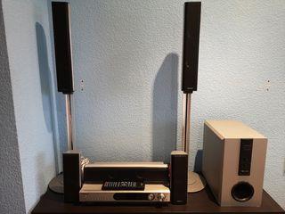 kenwood VRS-6200 con altavoces KS-8200HT