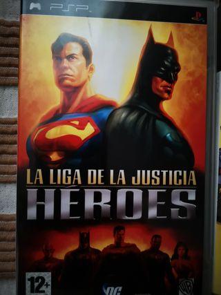 LA LIGA DE LA JUSTICIA: HEROES
