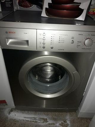 lavadora bosch gris de 7kg