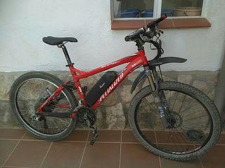 Bicicleta Specialized Eléctrica doble suspensión