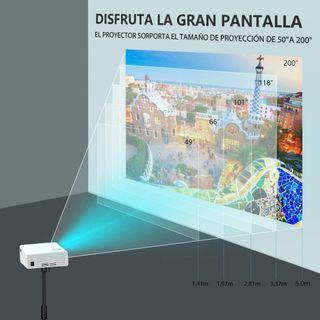 Proyector 5000 lumenes Soporte Full HD 1080p
