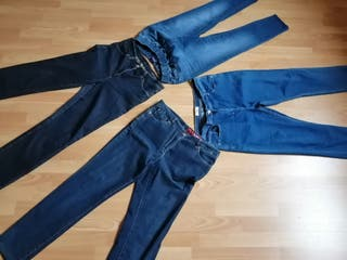 4 jeans mujer 42/44