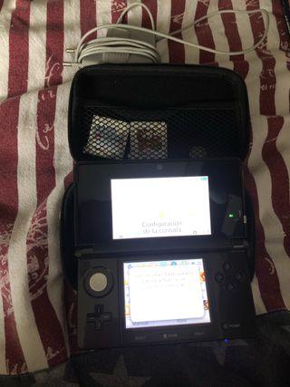 Consola Nintendo 3ds con juegos instalados