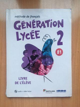 Libros francés Génération lycée nivel B1