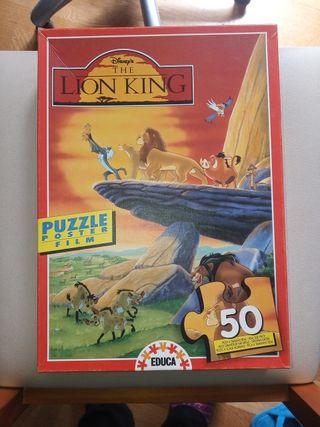 Puzzle 50 piezas Rey León marca Educa