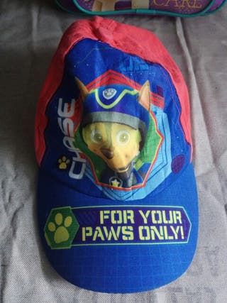 gorrita de niño patrulla canina