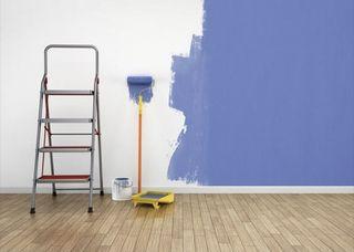 pinto piso completo el color de su prerencias