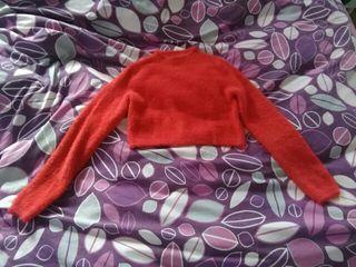 Jersey corto rojo de pelitos