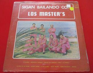 LOS MASTER'S Sigan Bailando VINILO LP