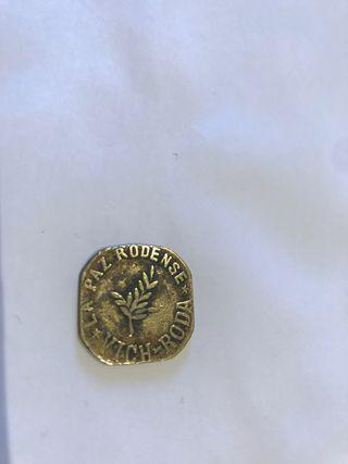 Moneda muy rara 5 centimos