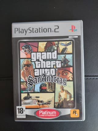 GRAND THEFT AUTO:SAN ANDREAS para ps2