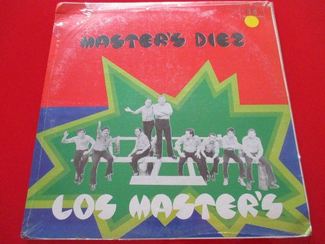 LOS MASTER'S Diez VINILO LP PRECINTADO
