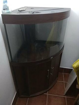acuario completo muebles filtro calentador y luz