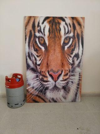 cuadro tigre 1×1'50