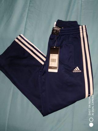 Pantalón chándal niño Adidas. Talla 7, 8 años.
