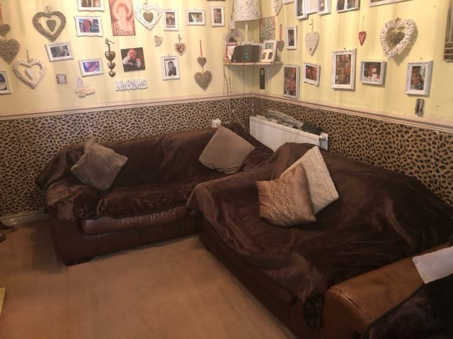 Huge 4x3seater&cuddle chair and huge foot stool