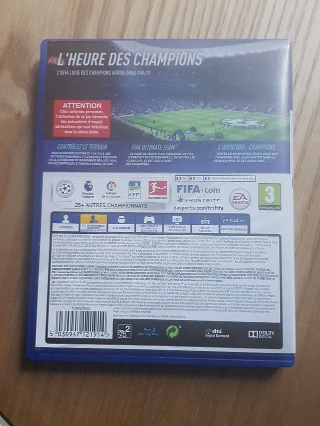 games ps4 FIFA 19