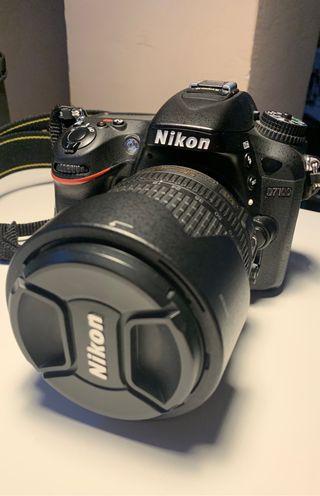 Nikon d7100 y objetivo nikon 55-105