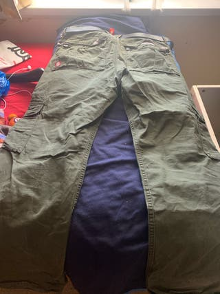 Unisex cargo trousers