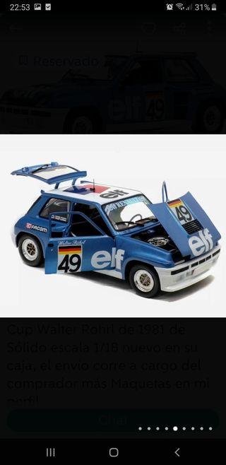 1/18 maqueta Renault 5 Turbo sólido