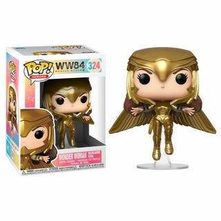 Figura POP DC Wonder Woman 1984 Wonder Woman Gold