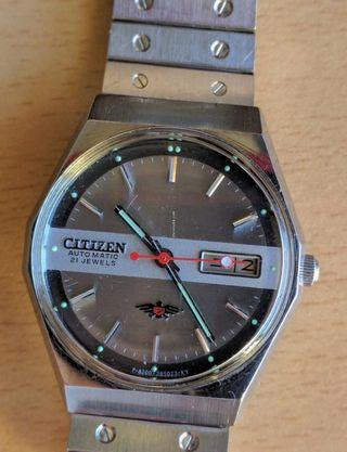 Reloj automatico vintage Citizen