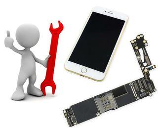 reparación de placas iphone. chip audio.