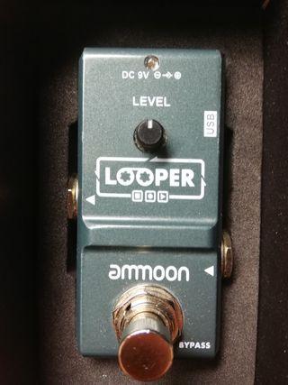 Pedal de guitarra nano looper de ammoon