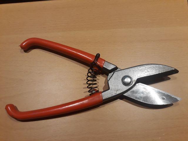 Tijera para cortar chapa recta 250mm