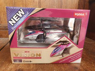 Mini helicóptero radio control