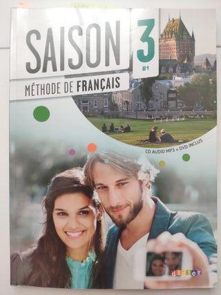 libros francés Saison 3 B1