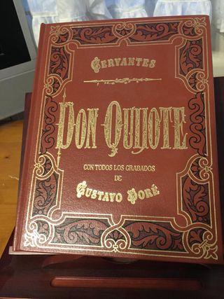 Publicación del libro El Quijote en 2 tomos