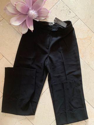 Pantalon vestir negro señora.Talla 38.Zendra.Nuevo