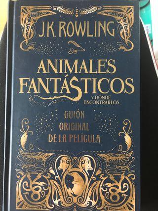 Animales Fantásticos guion original